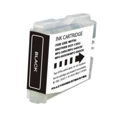Compatible inkjet cartridge for Brother LC51Bk - black